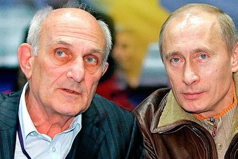 Thầy A.Rakhlin và Tổng thống V.Putin năm 2007