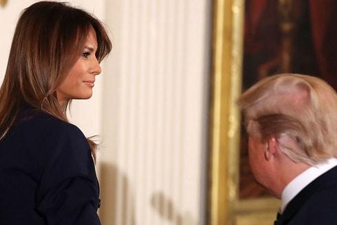 Đệ nhất phu nhân nước Mỹ Melania Trump dường như không muốn công khai vấn đề sức khỏe của mình