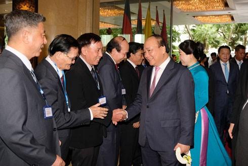 Lễ đón Thủ tướng Nguyễn Xuân Phúc và Phu nhân tại sân bay Don Muang, Thủ đô Bangkok, Thái Lan chiều 15-6