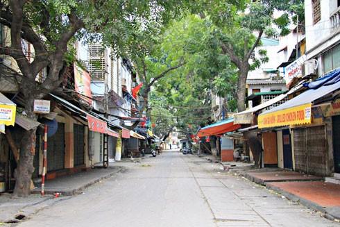 Phố Lý Văn Phức ở quận Ba Đình, Hà Nội