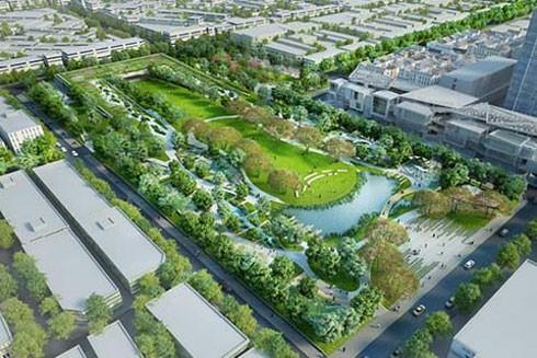 """Công viên chứa nước khổng lồ giúp Bangkok không bị """"xóa sổ"""" trong tương lai khi nước biển dâng"""