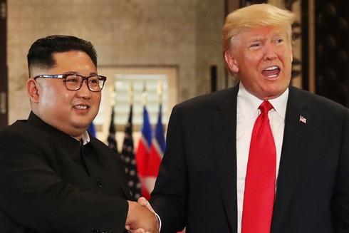 Tổng thống Mỹ Donald Trump ngỏ ý mong muốn có cuộc gặp thượng đỉnh lần thứ hai với nhà lãnh đạo Triều Tiên Kim Jong-un