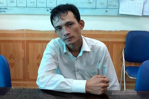 Đối tượng Trần Văn Thượng bị bắt giữ sau khi thực hiện hành vi trộm cắp tài sản tại Bệnh viện Phụ sản Hà Nội