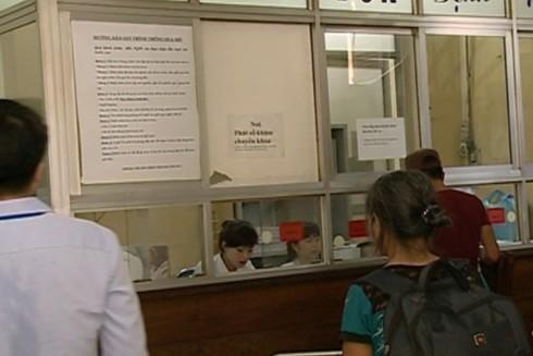 Lực lượng công an tuần tra đảm bảo an ninh trật tự tại các bệnh viện