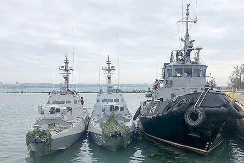 Nga điều tàu quét mìn tới Biển Azov ảnh 1