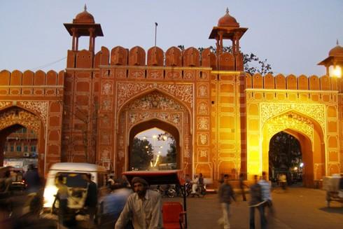 Cố đô hồng ở Ấn Độ