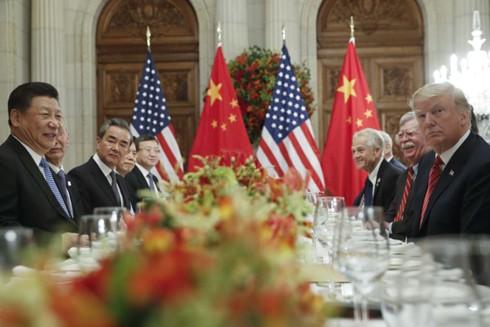 Tổng thống Mỹ Donald Trump và Chủ tịch Trung Quốc Tập Cận Bình có cuộc gặp song phương bên lề Hội nghị thượng đỉnh Nhóm các nền kinh tế phát triển và mới nổi (G-20)