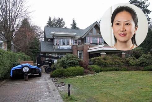 Bà Mạnh Vãn Chu sở hữu 2 căn biệt thự triệu đô ở Canada