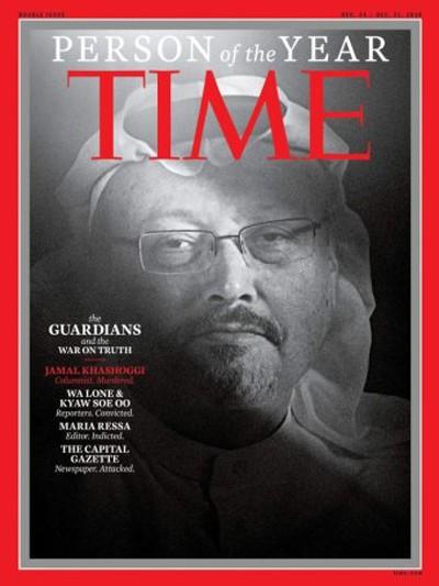 Ảnh bìa Tạp chí TIME