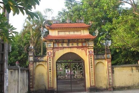 Chùa Gia Quất (phường Thượng Thanh, quận Long Biên, Hà Nội) từng là một căn cứ hoạt động cách mạng