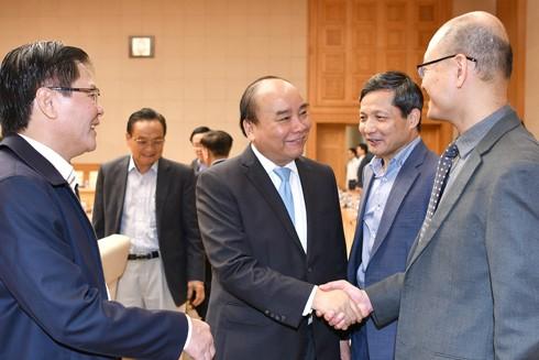 Thủ tướng muốn lắng nghe các thành viên Tổ tư vấn kinh tế góp ý