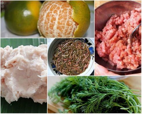 Hành hoa, thì là, thịt băm, vỏ quýt và trứng tạo thành một món ăn gây thương nhớ với nhiều người xa Hà Nội