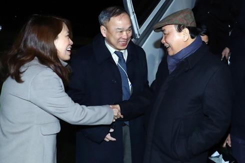 Thủ tướng bắt đầu hoạt động đối ngoại đa phương đầu tiên năm 2019 ảnh 1