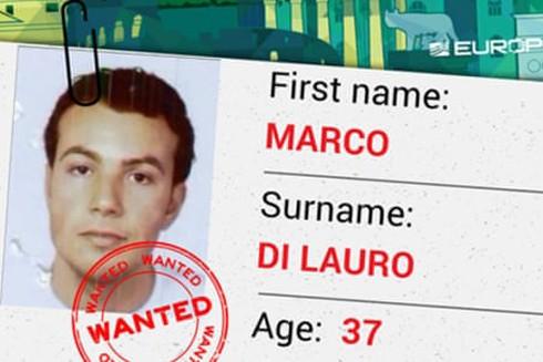 Marco Di Lauro khi bị đưa vào danh sách truy nã gắt gao của Cơ quan Cảnh sát Liên minh châu Âu (Europol)