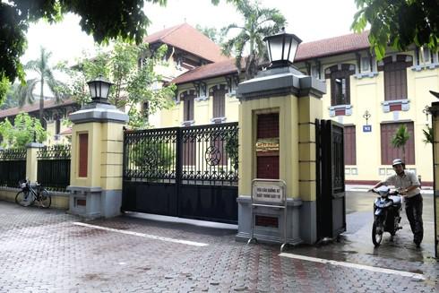 Trụ sở Bộ Tư pháp - một điểm nhấn về kiến trúc trên đường Trần Phú