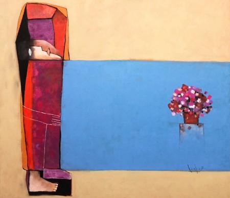 Tranh của họa sĩ Tào Linh