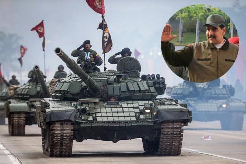 Những người ủng hộ Tổng thống Venezuela Nicolas Maduro vẫn chiếm đa số trong quân đội
