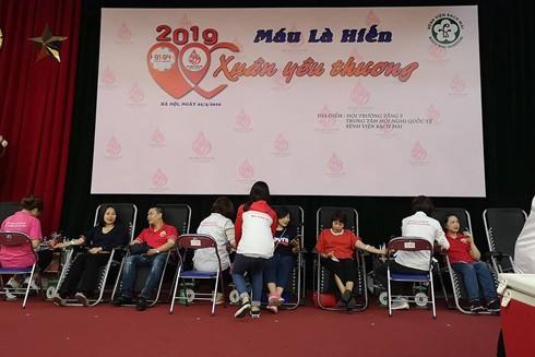 Hoạt động hiến máu tình nguyện của nhóm 91-94 Hà Nội