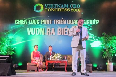 Ông Trần Quí Thanh - Nhà sáng lập kiêm Tổng giám đốc Tân Hiệp Phát - chia sẻ về tư duy khởi nghiệp