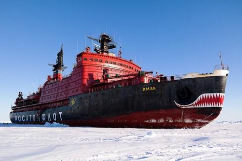 Tàu phá băng nguyên tử của Nga