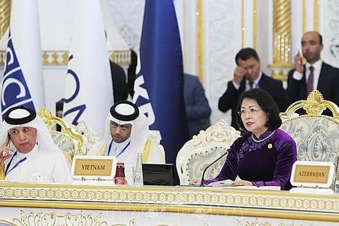 Phó Chủ tịch nước Đặng Thị Ngọc Thịnh tham dự và phát biểu tại Hội nghị, ngày 15-6