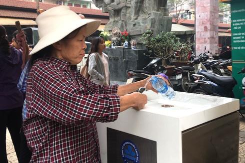 Hà Nội đưa vào sử dụng hàng loạt tiện ích miễn phí phục vụ người dân ảnh 1