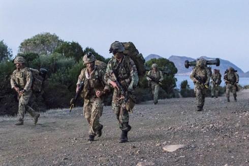 Nhiều quốc gia thuê đảo Sardinia, Italia làm nơi tập trận và thử nghiệm vũ khí