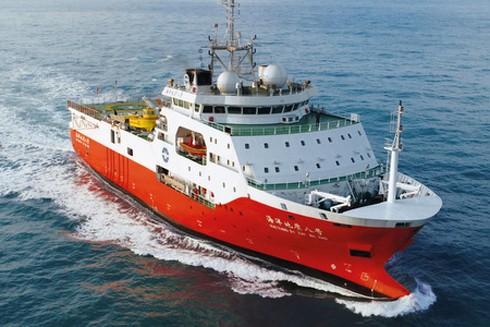 Tàu khảo sát Hải Dương 8 đang vi phạm vùng đặc quyền kinh tế và thềm lục địa của Việt Nam