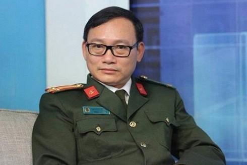 Trung tá Đào Trung Hiếu - chuyên gia về tội phạm học của Bộ Công an
