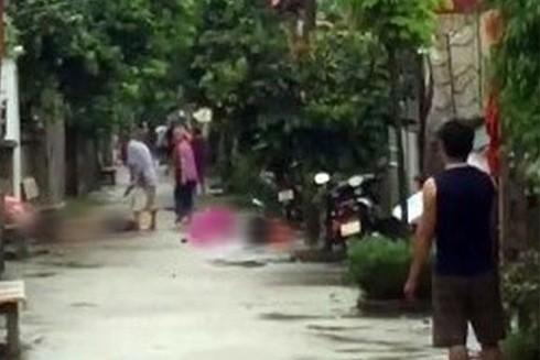 Nơi xảy ra vụ án mạng tại huyện Đan Phượng, Hà Nội