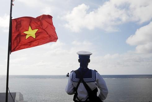 """Việt Nam """"Kiên quyết, kiên trì"""" đấu tranh giữ vững chủ quyền biển, đảo trên cơ sở luật pháp quốc tế, trong đó có UNCLOS"""