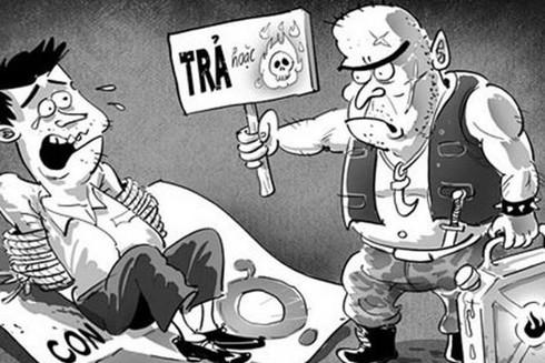 Các hành vi đe dọa để đòi nợ sẽ bị xử phạt hành chính hoặc truy cứu trách nhiệm hình sự (Ảnh minh họa)