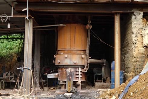 Thiết bị của cơ sở đốt rác thải điện tử lấy kim loại