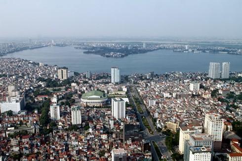 Thủ đô Hà Nội thay da đổi thịt, ngày càng khang trang, hiện đại hơn