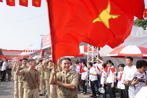 Hà Nội tái hiện những ngày tháng 10 lịch sử của mùa thu năm 1954 tại Hoàng thành Thăng Long sau 65 năm