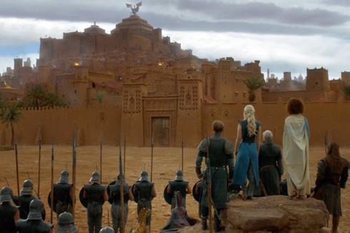 Ait Benhaddou làm bối cảnh trong phim Games of Thrones