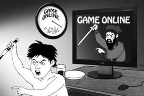 """Tình trạng nghiện game online, chơi các game bạo lực ở trẻ học đường, và khi trẻ bị đắm chìm vào thế giới """"ảo"""" của các game bạo lực, đầy rẫy cảnh bắn giết, chết chóc… rất dễ dẫn đến nguy cơ nảy sinh hành vi phạm tội (Minh họa: Internet)"""