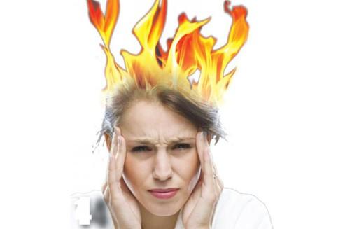 Những cơn bốc hỏa có thể do một số rối loạn cơ thể gây nên