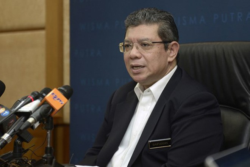 Ngoại trưởng Malaysia Saifuddin Abdullah