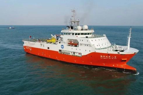 Việc tàu Hải Dương 8 của Trung Quốc tiến hành hoạt động khảo sát trong vùng đặc quyền kinh tế của Việt Nam đã vi phạm quyền chủ quyền và quyền tài phán của Việt Nam ghi rõ trong Công ước Liên hợp quốc về Luật Biển - UNCLOS