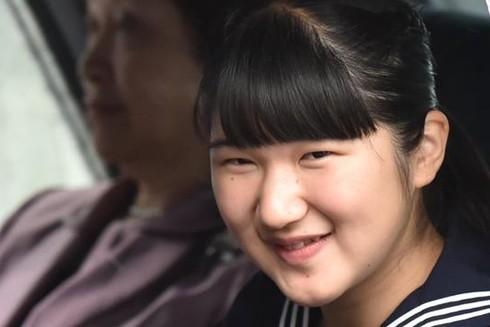 Công chúa Aiko năm nay mới 17 tuổi được nhiều người ủng hộ làm Nữ hoàng tương lai
