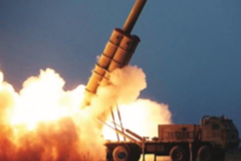 Triều Tiên thử pháo phản lực siêu lớn tại tỉnh Nam Hamgyong ngày 28-11