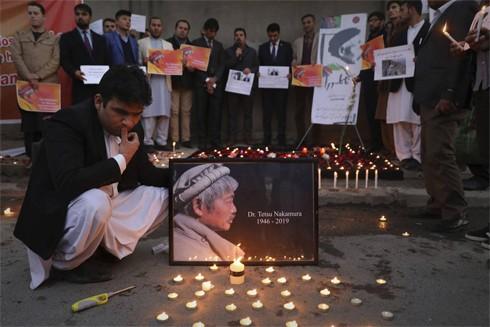Người dân Afghanistan đau buồn tưởng nhớ vị bác sĩ Nhật Bản đã tận tâm giúp đỡ họ