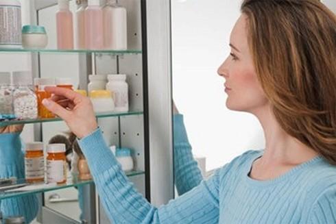 Vị trí đặt tủ thuốc phải là nơi dễ nhìn thấy, tiện lợi cho việc sử dụng