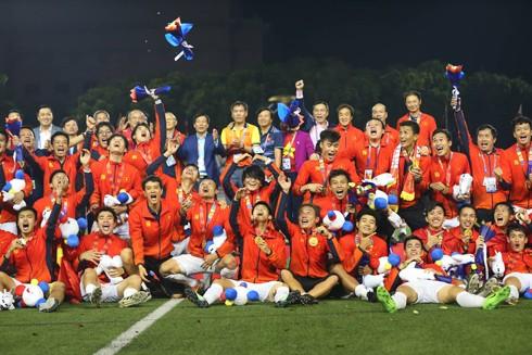 HCV SEA Games là mốc son trong lịch sử bóng đá Việt Nam