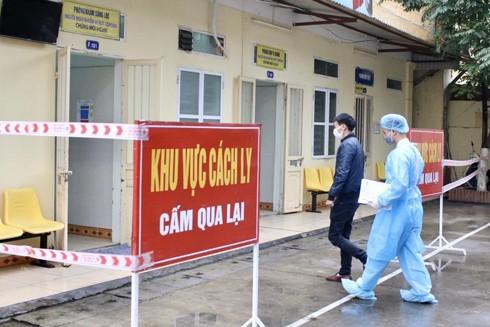 Khu cách ly đặc biệt được thiết lập tại Bệnh viện Đa khoa Đống Đa