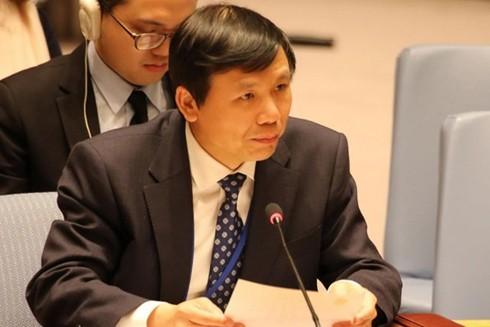 Đại sứ Đặng Đình Quý, Trưởng phái đoàn thường trực Việt Nam tại Liên hợp quốc