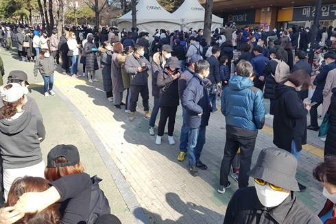 Hàn Quốc chạy đua với thời gian để ngăn chặn dịch Covid-19 ảnh 1