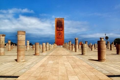 Tháp Hassan - biểu tượng của Rabat cổ kính