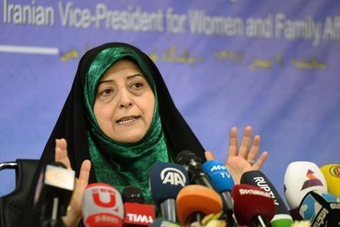 Phó Tổng thống Iran Masoumeh Ebtekar xác nhận đã nhiễm virus Corona mới